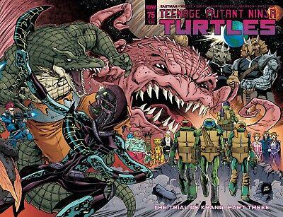 Teenage Mutant Ninja Turtles #75 Comic 2017 IDW Comics 1st Print - Michelangelo