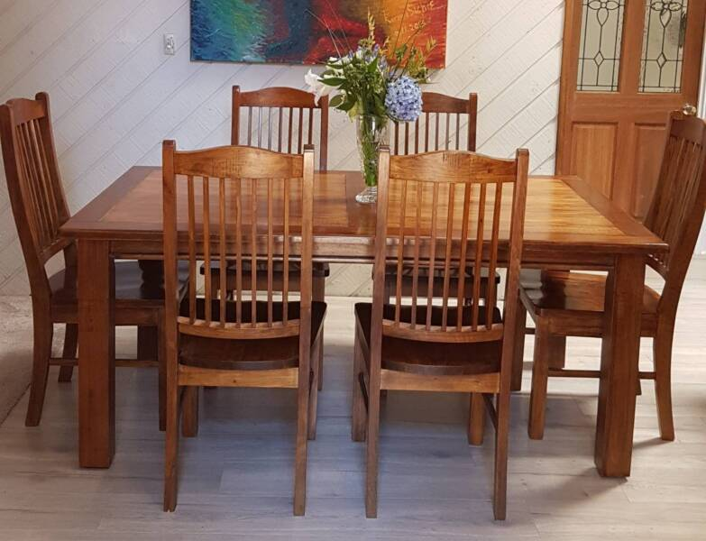 Gumtree Does Not Support Puppy Mills Gorgeous Hardwood Dining Table And Chairs Bridgewater Adelaide