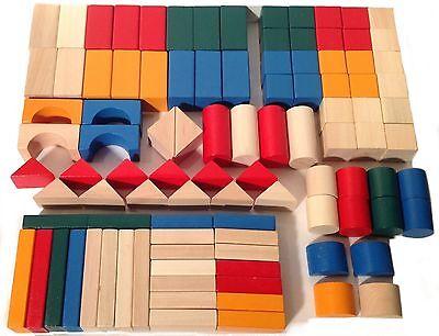 Wooden Blocks Set (Wooden Shaped Blocks Set)