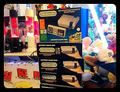 Nintendo Classic Mini NES console, FIRST RELEASE, Entertainment System 30 games