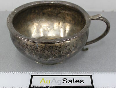 Unusual C. 18th Century Spanish Colonial Chamber Pot 80% Silver 18% Lead ~ 1206g