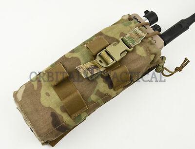 TYR Tactical MBITR Drop Down Tilt Out PRC 152 Radio Pouch CM 152 Multicam