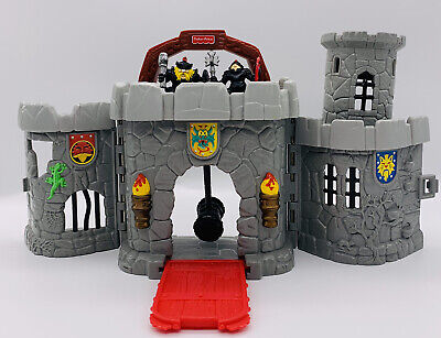 Old VTG Fisher Price All-in-One Folding Castle Great Adventure 1998