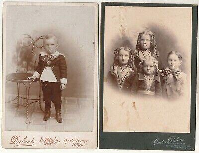 4 x KAB - Kinderportraits - Davenport Iowa - Tracht Usa Kinder
