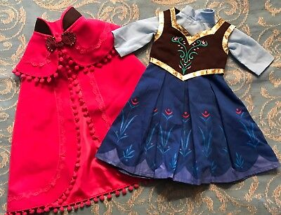 "For an American Girl or 18"" Doll ANNA'S OUTFIT FROM - Anna From Frozen Outfit"