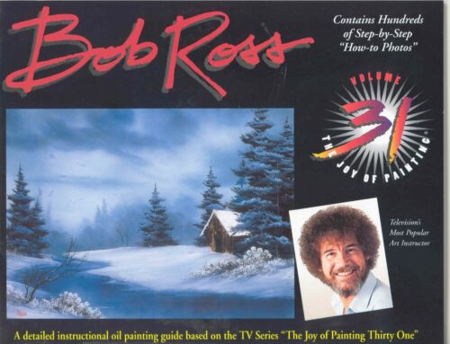 BOB ROSS JOY OF PAINTING BOOK 31 NEW WITH 13 PAINTING PROJECTS SHIPs FREE