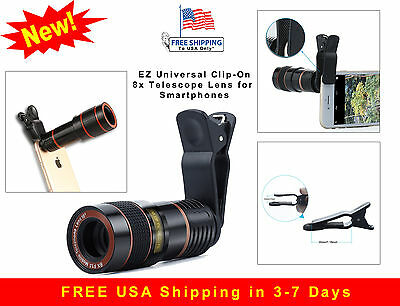 iPhone 8X Telescope Ultra Zoom HD Lens Flux Lux HD90 HD360x 450 360 x Style 7 8