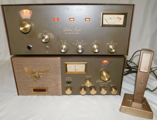 Browning Golden Eagle Mark 3 III Transceiver & Receiver & Browning Microphone