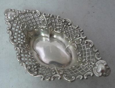 Edwardian Silver Dish W & Co Birmingham 1901 54g A623917