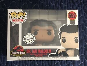 #552 - Dr. Ian Malcom (Wounded Exclusive) Funko