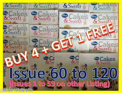Disney Cakes And Sweets Decorating Collection magazine : ISSUES 60 TO 120 !](Disney Cakes And Sweets)