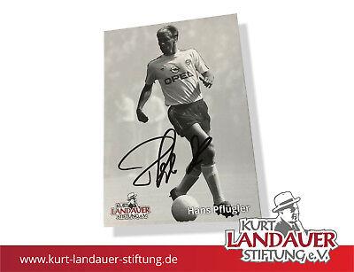 Autogrammkarte Hans Pflügler – FC Bayern - limitiert! Kurt Landauer Stiftung