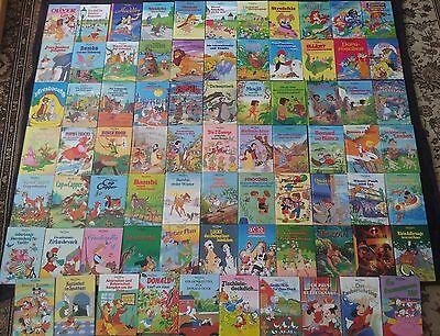 76 Walt Disney Bücher! Horizont Verlag! Kinder Bücher! Bücher Sammlung! WIE NEU!