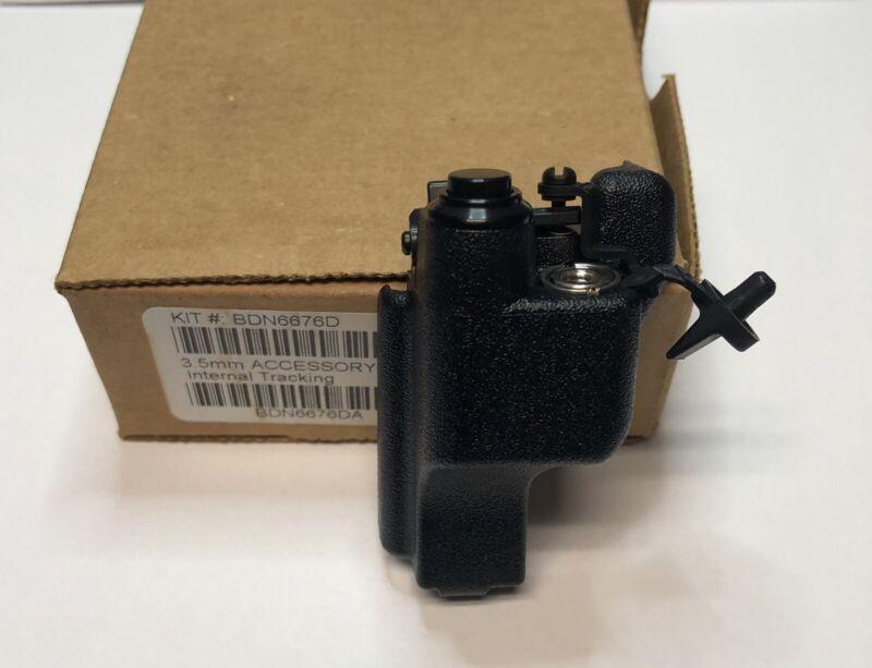 BRAND NEW Motorola XTS 5000 VHF Adapter 3.5 MM Built In PTT BDN6676D