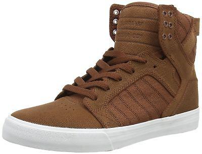 8def9c6c8354 Details about Supra Men s Skytop Chestnut Ballistic Nylon Sneaker Men s 8