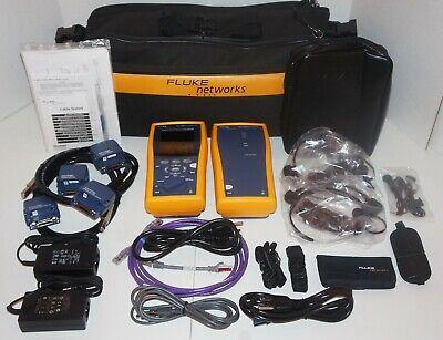 Fluke Networks Dtx-1500 120 Cable Analyzer Copper Certification Tester Intl