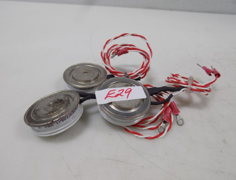 PRX SEMICONDUCTOR RECTIFIER TYRISTOR LOT OF 3 T7S0126504LP