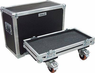 Fender Hot Rod Deluxe Combo Amp Swan Flight Case (Hex) On Wheels...