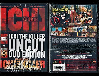 Ichi The Killer   Ichi Origin   Uncut 2 Disc Duo Edition   Rare  Hard To Find