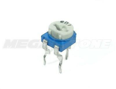 2 Pcs 4.7k Ohm Trimpot 6mm Linear Top Adjustment Variable Resistor Usa Seller