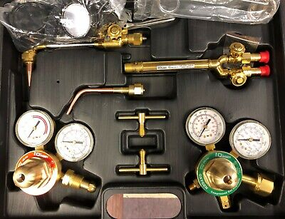 New Chicago Electric Welding Medium Duty Oxygen Acetylene Welder Kit 98958
