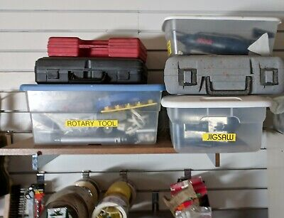 Slatwall Shelf Bracket Or Hanger Chrome Brackets 12 Used Heavy Duty Qty Of 8