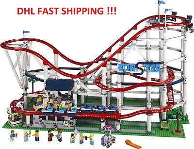 2019 BEST GIFT Custom Creator Roller Coaster Compitible Lego 10261 + Manual