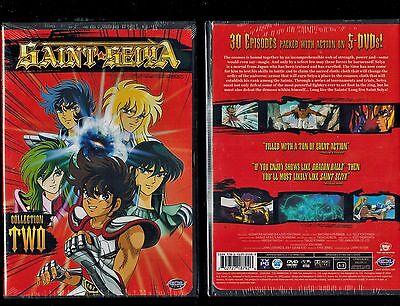Saint Seiya - Collection 2 (Brand New 5 DVD Anime Box Set) Rare, Out Of Print