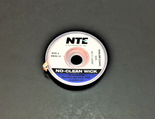 NTE SW02-10 #4 No Clean Solder Wick - 10