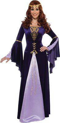 Guinevere Queen Princess King Arthur Medieval Renaissance Costume Adult
