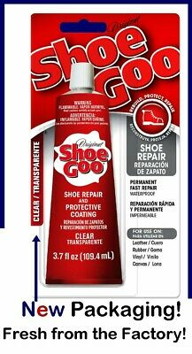 Shoe Goo Clear 3.7 NOT Counterfeit & NEW Display Card! Fresh Stock as of 6/22/21