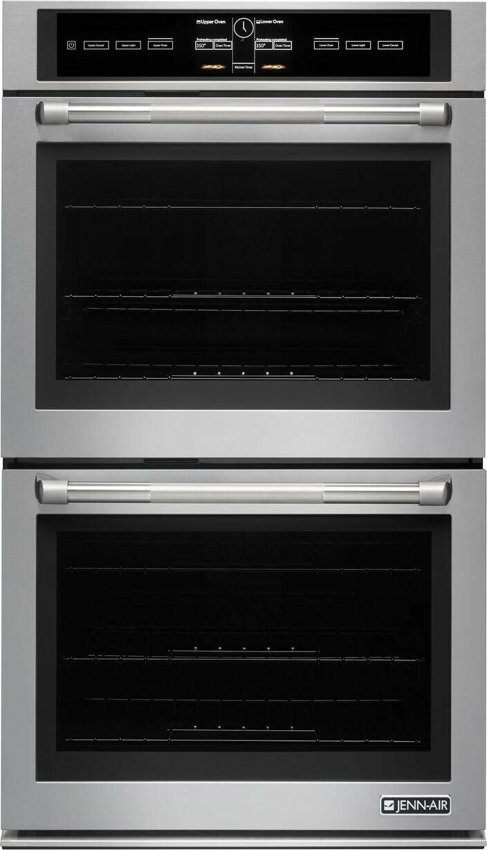"""Jenn-Air 30"""" V2 Pro-Style Series SS Double Wall Oven JJW3830"""