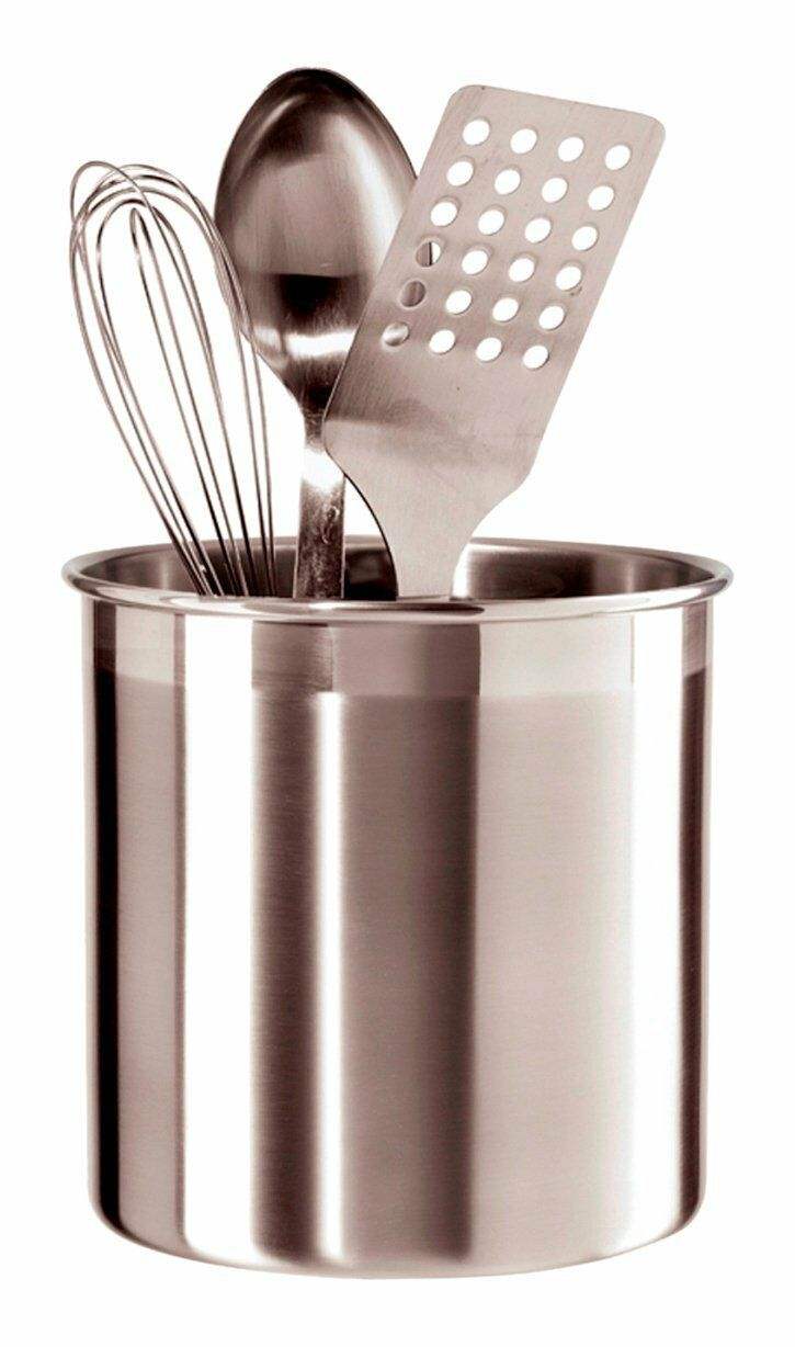 Oggi 7211 Stainless Steel Utensil Holder, Jumbo , New, Free