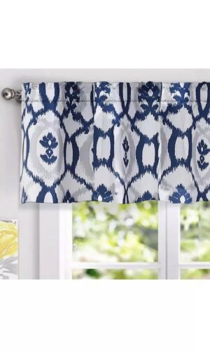 evelyn floral pattern window curtain valance 52
