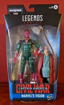 Marvel Legends Vision Avengers Endgame Civil War Bro Thor BAF IN STOCK!!