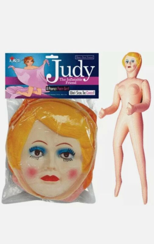 Judy BLOW UP GIRL FEMALE INFLATABLE BLOW UP BACHELOR PARTY
