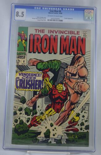 Iron Man #6 CGC 8.5 Classic Silver Age