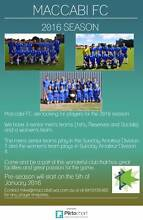 Maccabi Soccer Club Looking for Players!!! Mens and Womens City Beach Cambridge Area Preview