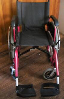 Wheelchair by Wheel Chair Technoclogy Black & Red