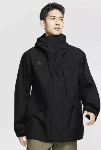 NWT Nike ACG GORE-TEX HD Hooded Jacket Mens Size XL Black CD