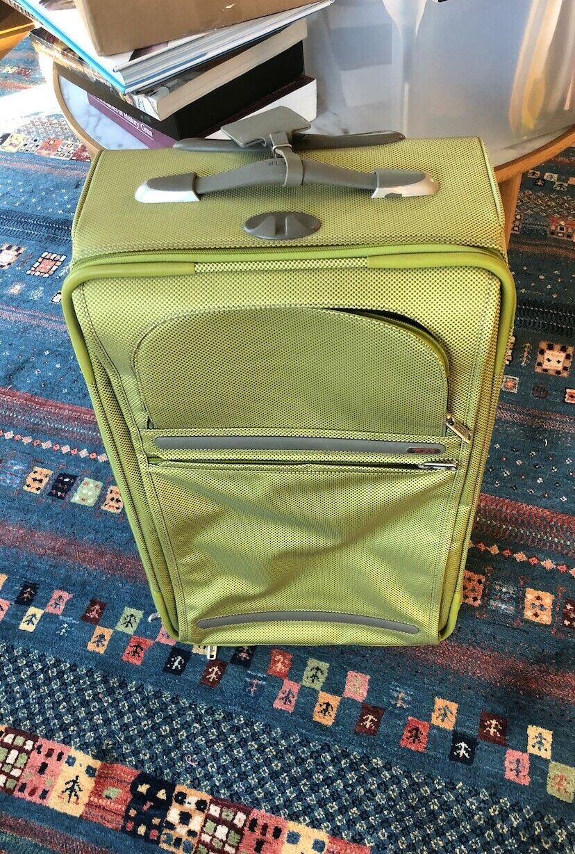 TUMI 23 Sage Green Suitcase -- NEVER USED - $180.00