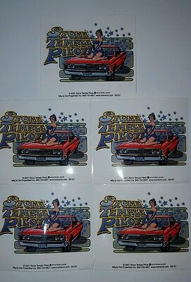STP STONE TEMPLE PILOTS STP CAR STARS WOMAN GIRL CASE AMP BOARD 5 STICKERS