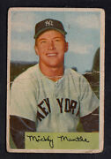 1954 Bowman Mickey Mantle #65