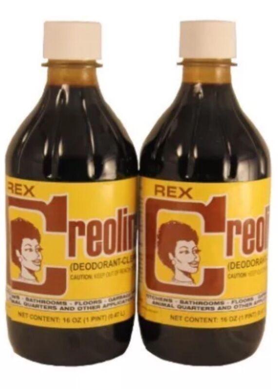 ANIMAL QUARTERS CREOLINA  Odor Remover  Coal Tar Deodorant 16oz.Bottles 2-Pack