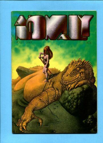 Anomaly #4 Underground Comic Bud Plant Nov. 1972 1st Richard Corben Robert Kline