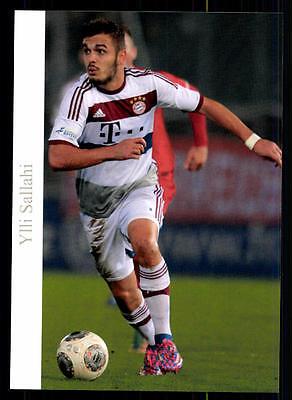 Ylli Sallahi Autogrammkarte Bayern München II 2014-15