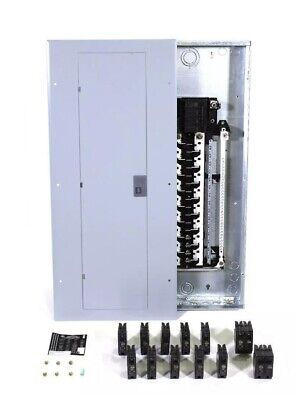 Ge 200-amp Main-breaker-box Panel 32-space 40-circuit Copper-bus Home Indoor New