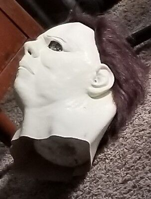 Michael Myers Plain White Halloween Mask