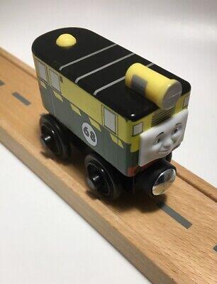 Thomas Wooden Railway Philip MINT! Train Set Engine Car Green Black Toy