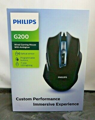 Philips G200 Wireless Gaming Mouse With Ambiglow